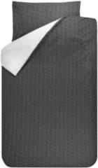 Witte BINK Bedding Sil - Dekbedovertrek - Junior - 120x150 cm + 1 kussensloop 60x70 cm