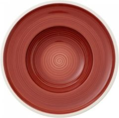 Rode Villeroy & Boch Manufacture Rouge Diepbord 25 cm