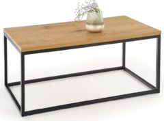 Home Style Salontafel Aruba 100 cm breed in goud eiken