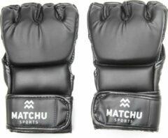 Matchu Sports - MMA handschoenen - Maat L - Zwart