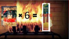 Fire-Up!! 180 Aanmaak Houtkrullen (3 zakken 60 stuks) & GRATIS Lange Lucifers Fire-Up