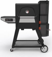 Zwarte Masterbuilt Digitale Houtskoolgrill & Smoker Gravity Fed