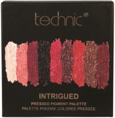 Rode Technic Pressed Pigments Oogschaduw Palette - Intrigued