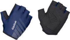 Marineblauwe GripGrab Ride fietshandschoenen (korte vingers) - Handschoenen