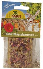 Gebr. de Boon JR Farm knaagdier knaagsteen van natuurlijk leem met bloemen 100 gram 08252