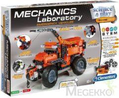 Rode Clementoni - Mechanica Laboratorium - Reddings Voertuigen - Constructiespeelgoed