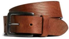 Bruine Sort Jack & Jones Jacvictor Leather Belte