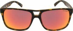 ICON Sport Zonnebril TEMPO - Mat tortoise montuur - Rode spiegelende glazen - GEPOLARISEERD (p)