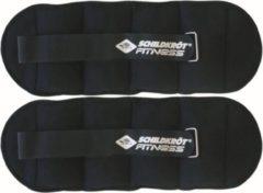 Schildkrot Fitness Schildkröt Fitness Enkel - en polsgewichten - 2 x 2 kg - Nylon - Zwart