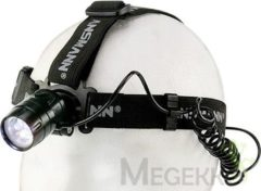 Ansmann HD5 LED Hoofdlamp werkt op batterijen 40 lm 20 h 5819083-510