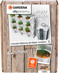Grijze GARDENA NatureUp! Uitbreidingsset Bewatering Waterreservoir - bewatert plantenbakken zonder wateraansluiting