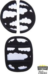 Bliss Gordelbeschermer voor Maxi-Cosi met 3 puntsgordel - Wolk Zwart