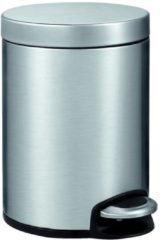Roestvrijstalen EKO Serene Step Bin - 5 liter - Mat RVS