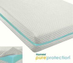 Witte Homéé®pure'protection Homéé® Matrasvernieuwer matrashoes dubbeldoek football 280g. p/m2 80x200 +20cm