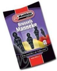 Zwarte Matthijs Snoepgoed Drop BRUSSELS MANNEKE 1 kilo