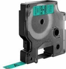 Labelling tape DYMO D1 40919 Tape colour: groen Font colour:Black 9 mm 7 m