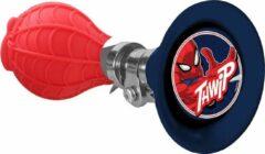 Marvel Fietstoeter Spider-man Jongens 14 Cm Staal Blauw/rood