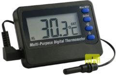 Zwarte Europet Bernina Ebi digitale Thermometer - Met alarm van -50 C & 70 C