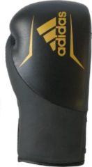 Adidas Speed 200 Bokshandschoenen Zwart/goud Maat 16 Oz