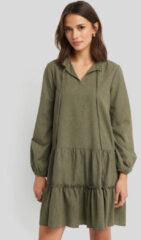 Groene Trendyol Ruffle Mini Dress - Green