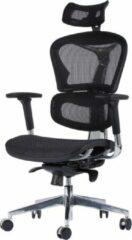 D2D Luxe Ergonomische Bureaustoel ERGO-3 Zwart