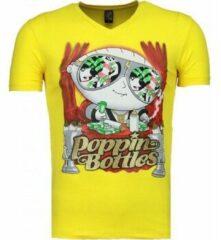 Gele T-shirt Korte Mouw Mascherano Poppin Stewie - T-shirt