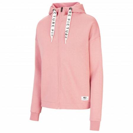 Afbeelding van Picture - Women's Mell Zip Hoodie - Hoodie maat S, roze