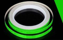 New Age Devi Reflector Fietsstickers voor goede zichtbaarheid op de weg - Groen