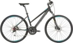 28 Zoll Damen Mountainbike 27 Gang Shockblaze... schwarz, 48cm