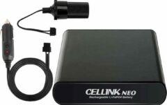 Zwarte Cellink Neo 5 4500mAh dashcam voor auto battery pack