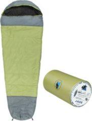 10-T Outdoor Equipment 10T Schlafsack Jade -16° warm weich 1800g leicht XXL Mumienschlafsack 230x85 Grün / Grau 300g/m²