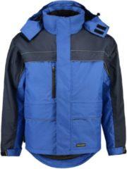 Marineblauwe Tricorp TJO2000 Parka Cordura - Werkjas - Maat L - Koningsblauw / Marineblauw