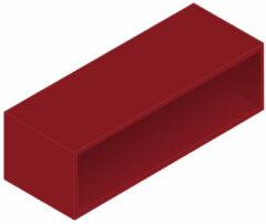 Royal plaza Intent open onderkast 100x45x30cm robijn rood