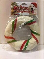 Nagels Kerst Kauwstick Donut Groot - Hondenspeelgoed
