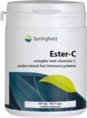 Ester C 600 mg bioflavonoiden van Springfield : 180 vcaps