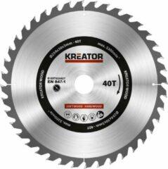 Kreator KRT020427 Zaagblad hout 254 mm -40T