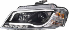 AutoStyle Set Koplampen incl. DRL 'Light-Bar' passend voor Audi A3 2008-2012 - Zwart