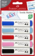 "Textielmarkers Faber-Castell 5 stuks ""BABY"" FC-159530"