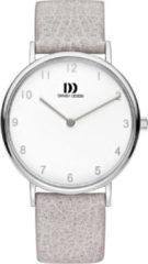 Zilveren Danish Design watches edelstalen dameshorloge Sydney Silver Grey IV16Q1173