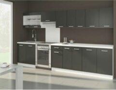 Andere ULTRA Complete keuken met werkblad L 3m20 - Mat grijs