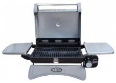 Zilveren Boretti Piccolino Gasbarbecue - Zwart