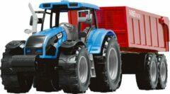 Rode Jollity Works JollyVrooom - Tractor - Bakwagen - Voertuig - Vervoeren - Boer - Landbouw - Boerderij - Rijden