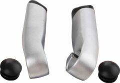 Tranzx Bar-ends Jd-833 Aluminium Zilver Per 2 Stuks