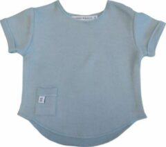 Antraciet-grijze Bamboom Baby T-shirt Maat 68