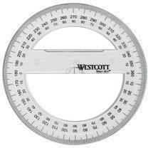 Kompasroos Westcott 10cm op - kaart