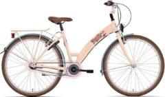 Bike Fun Candy Shop Meisjesfiets 26 Inch 43 Cm Meisjes 3v V-brakes Zalmroze/bruin