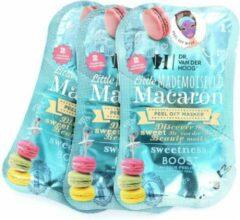 Dr Van der Hoog Dr. van der Hoog Little Mademoiselle Macaron Peel Off Masker - 3 sets van 2 maskers
