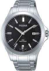 Pulsar Herenhorloge Zilverkleurig en Beschermde kroon PS9309X1
