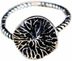Charme Bijoux Ring- Verstelbaar- Zilver- Boom- Dames
