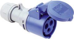 Blauwe PCE 213-6tt CEE-CARA-koppeling 16 A 3-polig 230 V